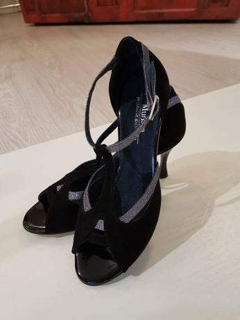 tangosolar balli da sala scarpe calzature nero e grigio torino ballare