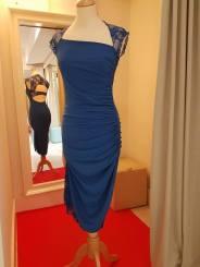 ineditotango-tangosolar-abito-blue-pizzo-davanti ballare abbigliamento made in italy