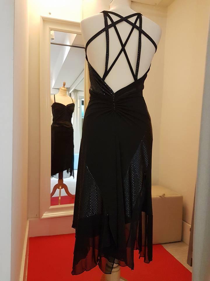 ineditotango-tangosolar-abito-nero-strass-abbigliamento esclusivo torino