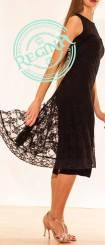 tangosolar-regina-tango-shoes-abito-nero-coda-pizzo torino esclusiva