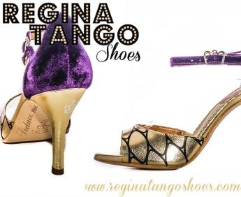 regina-tango-shoes-tangosolar-oro-prugna-velluto scarpe ballo tango