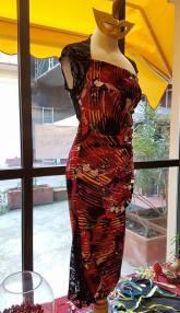 abiti esclusivi tango cerimonia feste tangosolar torino ineditotango fantasia rosso pizzo