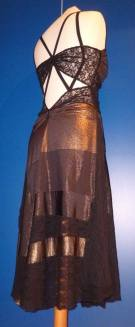 tangosolar-ineditotango-abito-laminato-bronzo-torino esclusiva tango
