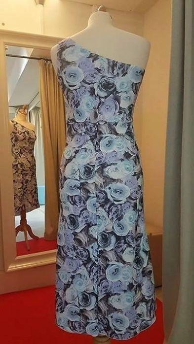 tangosolar abito biba azzurro dietro
