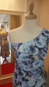 tangosolar abito biba azzurro monospalla davanti