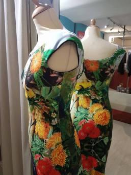 reginatangoshoes vestito abito tangosolar floreale