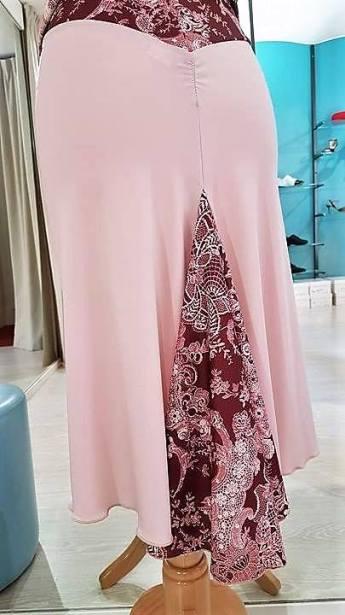 tangosolar gonna rosa rosso fantasia