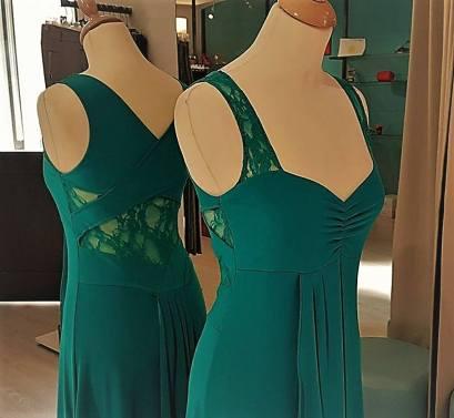 tangosolar abito ametista verde smeraldo pizzo tango dettaglio
