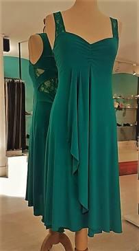 tangosolar abito ametista verde smeraldo pizzo tango tutto