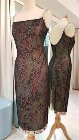tangosolar abito maculato velo nero torino tango abbigliamento