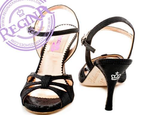 regina tango shoes nero