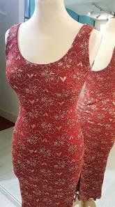 tangosolar abito rosso pizzo 2