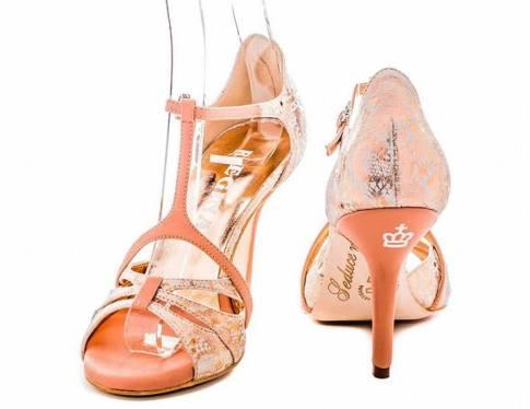 regina tango shoes pelle pizzo nature