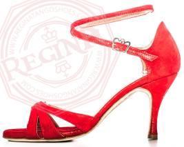 regina tango shoes scarpa rossa suede