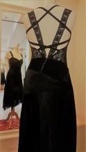 tangosolar abito pizzo nero