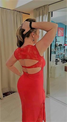 tangosolar abito rosso