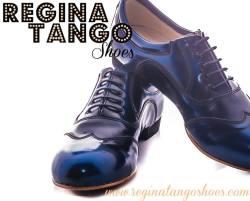 regina tango shoes uomo blu vernice tangosolar