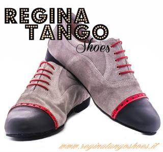 regina tango shoes uomo camoscio pelle tangosolar