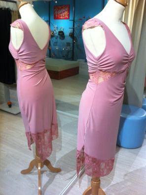 tangosolar abito rosa