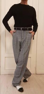 tangosolar uomo pantaloni principe galles
