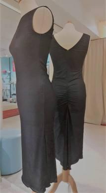 tangosolar abito nero lungo