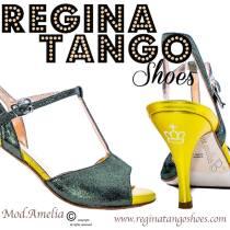 scarpe tango regina tangosolar torino giallo glitter