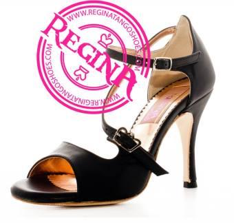 regina tango shoes pelle nera