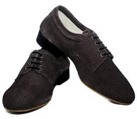 regina tango shoes uomo nero texture fiori