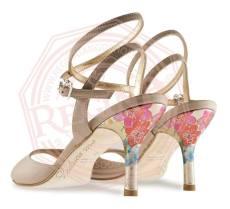 tangosolar regina tango shoes tacco fiorito tinta nature