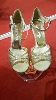 regina tangoshoes tangosolar dorate brillantini torino