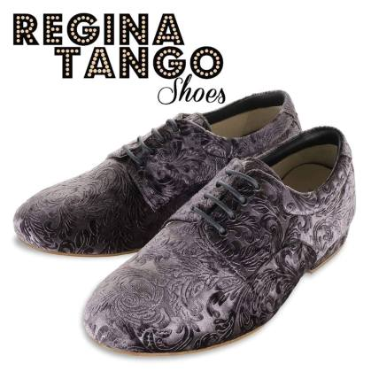 regina tangoshoes uomo scarpe bianco nero lavorato damascato tangosolar