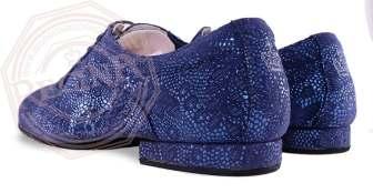 regina tangoshoes uomo scarpe blu lavorato damascato tangosolar torino