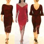 abito longuette rosso pizzo nero regina tango shoes torino tangosolar