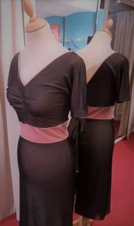 tangosolar abito rosa nero velo torino