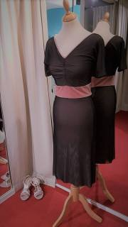 torino tangosolar abito rosa nero velo
