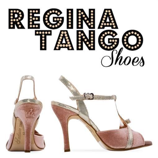 regina tango shoes torino tangosolar scarpa tacco alto rosa e oro