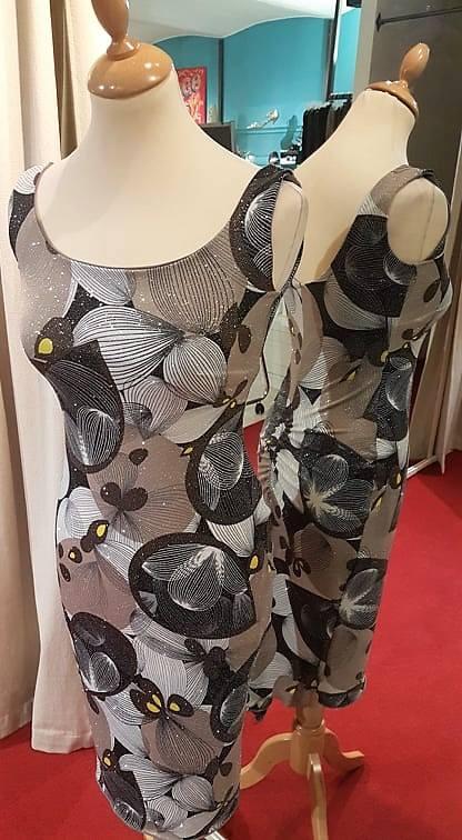 tangosolar torino abito belladonna fantasia geometrica