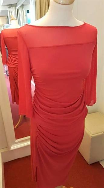 tangosolar ineditotango abito rosso