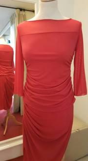 tangosolar torino ineditotango abito rosso con pieghe trasparenze