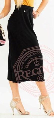 regina tango shoes gonna longuette nera eleganza torino tangosolar