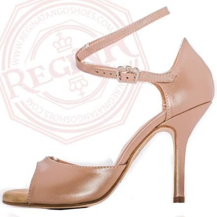 regina tango shoes scarpe ballo pelle nature sandalo tangosolar torino