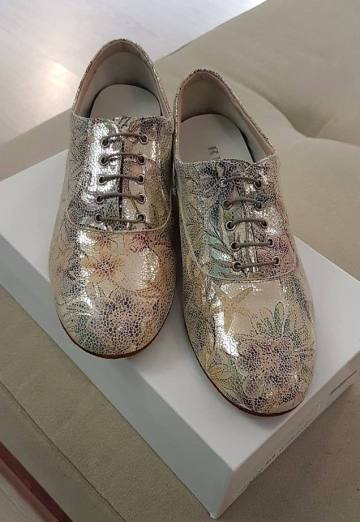 tangosolar regina tango shoes scarpe uomo fantasia oro