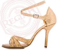 tangosolar regina tango shoes scarpe tango glitter oro tacco alto 2