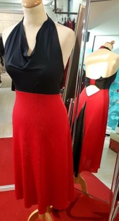 abito rosso nero tangosolar torino