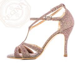 regina tango shoes glitter multicolor tacco alto torino