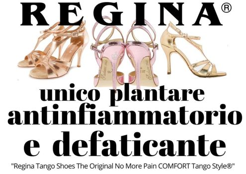 regina tango shoes plantare antinfiammatorio defaticante