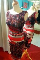 tangosolar abito fantasia rosso nero bianco